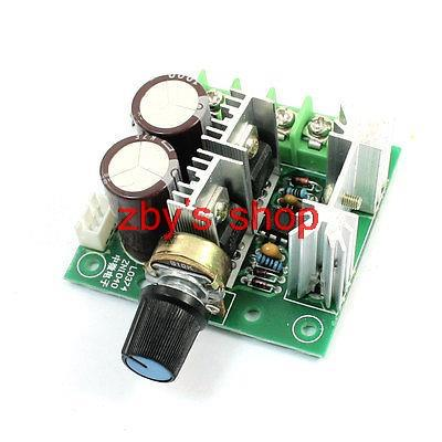 Pulse Width Modulation PWM Motor Speed Controller Switch Governor DC12V-40V 10A