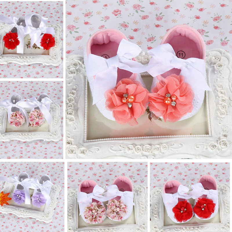 Rhinestone Newborn Baby Shoes Branded;fabricToddler baby booties Ivory Flower;Baby Moccasins Infant Baptism Shoe,toddler slipper