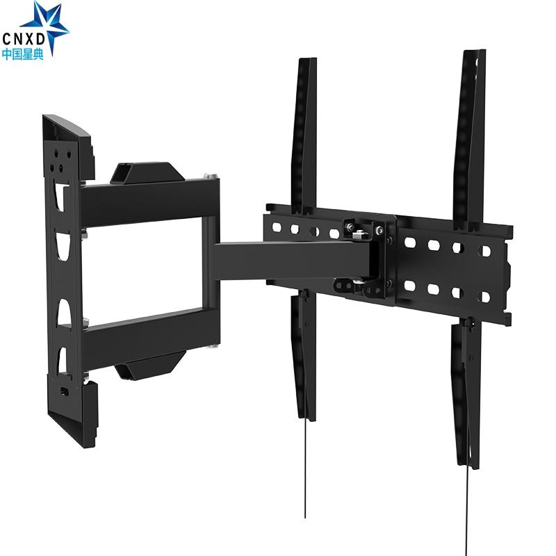 Full Motion TV Wall Mount Universal Tilt Swivel Bracket TV Stand Monitor Holder for LCD LED HD Plasma TV MAX VESA 400*400mm