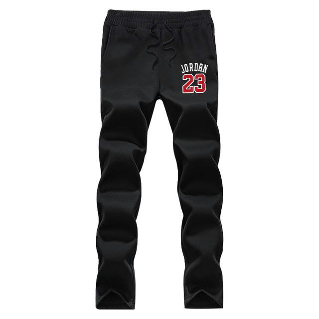 2016 new winter mens joggers pants print star Lebron James Jordan 23 graphic fleece novelty sweatpants