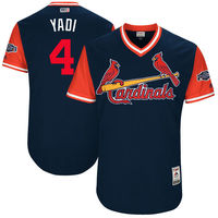 MLB Men S St Louis Cardinals Yadier Molina Yadi Navy 2017 Players Weekend Authentic Jersey