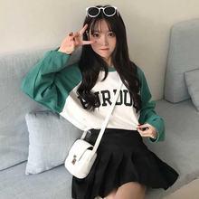 Женская футболка efinny с длинным рукавом повседневные пуловеры