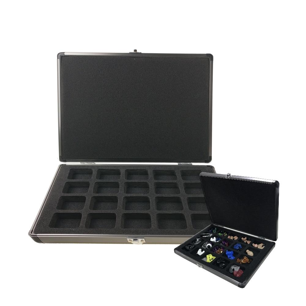 Presentation Display Case Box For Hearing Aids In-ear Monitors IEM Earphones Demonstration