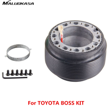 MALUOKASA Car Accessories Racing Steering Wheel Hub Adapter Boss Kit For Toyota/Universal OT-47 33 Gears Auto Free Shipping New