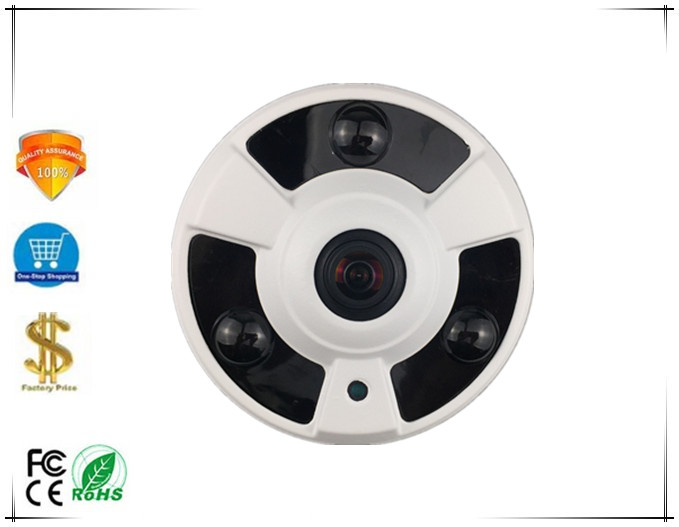 5 0MP 2592 1944 Panorama IP Metal Ceiling Dome Camera 1 7mm FishEye 3516E Sony IMX335