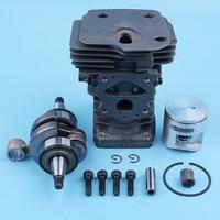 44mm Cylinder Crankshaft Assembly Top Engine End Kit For Jonsered CS2250 CS2245 CS 2245 2250 S Chainsaw Crank Bearing Big Bore