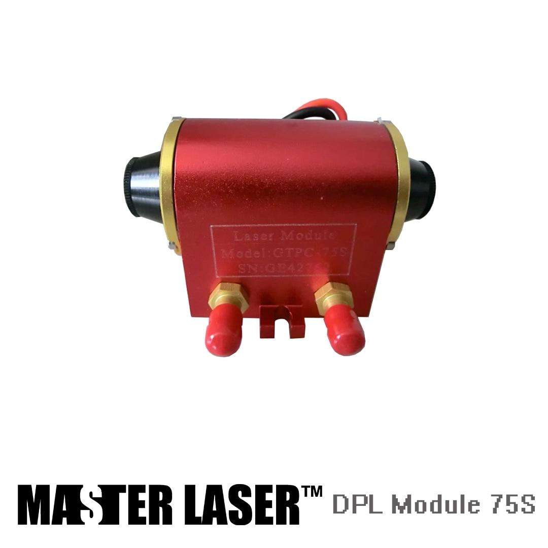 Скидка Бесплатная доставка хорошее качество высокой мощности GTPC 75S 75 Вт диода накачкой модуль лазерной головки DPL DPSS модуль