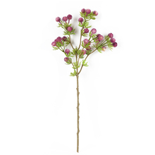 1pcs 56cm Artificial Spray Fire Dragon Ball Flower Simulated Dried Flower Plastic Fake Plant Road Guide Home Decoration M18