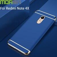 Xiaomi Redmi Note 4x Case Cover Hard Case MOFi Original Redmi Note4x 3gb 32gb Soft Pvc