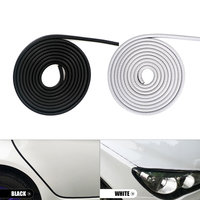 10M Car Door Protection Strips Car Styling Car Sticker Rubber Anti collision Strips Car Door Edge Moldings Side Protector Cover