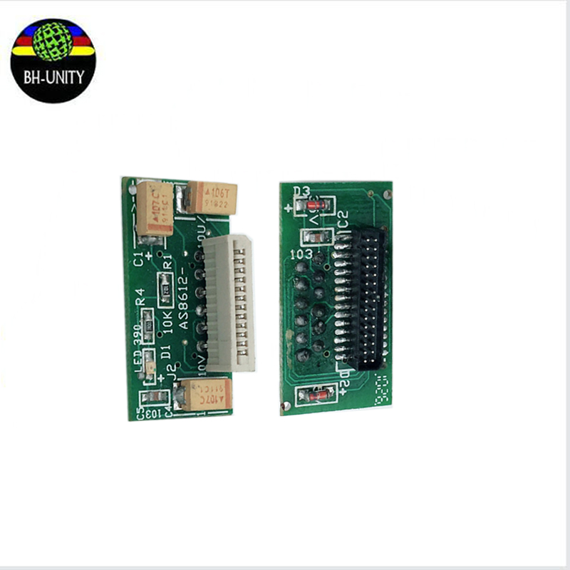 Hot sale!Inkjet printer spare parts JHF Vista 3312 printer head connector JHF Xaar 128 printhead transfer card 1pc for sale
