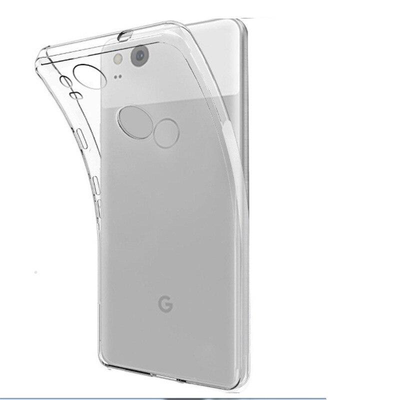 Fundas 2-Xl Case Google Pixel Silicone Coque Etui Soft-Cover Transparent For Capa Aksesuar