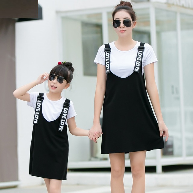 Family Matching Outfit Mother and Daughter Clothes Mom and Daughter Dress Family Matching Dresses Fashion Clothing TL29