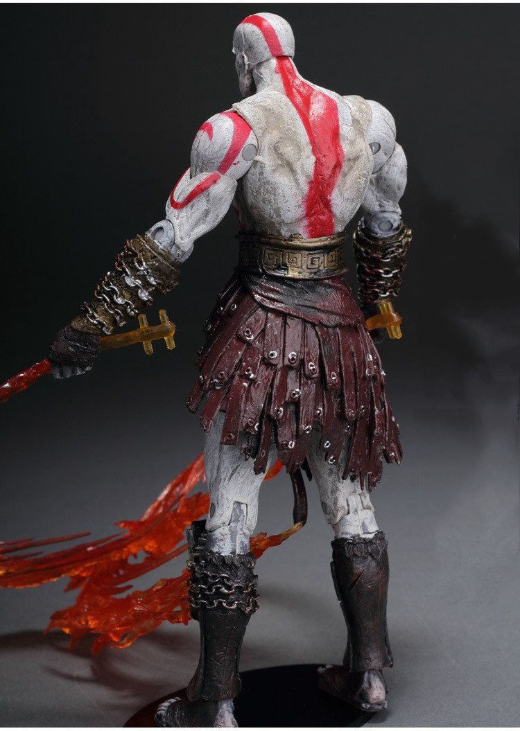 GZTZMY NECA God of War 2 Figures Kratos Action Figure Kratos in Golden Fleece Armor with Medusa Head Toy for kids gifts (6)