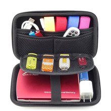 GUANHE 2.5 inch External 2.5 HDD Bag Case Pouch for Power Bank Hard Disk Drive P