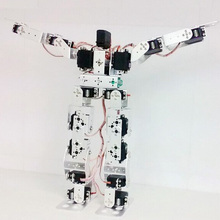 17 гуманоид dof робот/ходьба/танец/двуногий робот аксессуары/DIY/экспериментальная/тестовая платформа/гуманоидный робот структура комплект