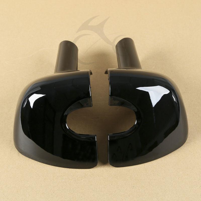 Левый и правый нижний вентилируемый ногу обтекатель крышки для моделей Харлей Дэвидсон гастроли Электра улица скользить FLHT FLHRC-Роуд Кинг ЭЛЕКТРОПОГРУЗЧИКА