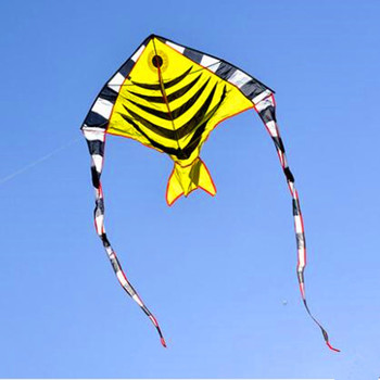 free shipping high quality Spanish mackerel fish kites with handle line kites flying outdoor toys for child weifang kite factory free shipping high quality large dual line stunt kites with handle line weifang kite factory outdoor flying toys albatross kite