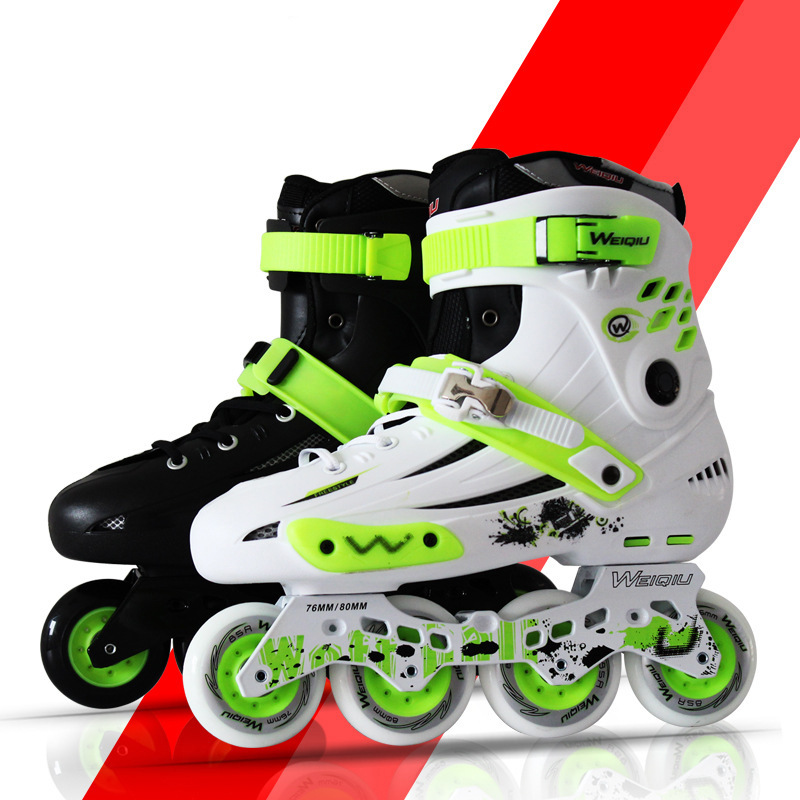 NEW Women Girls Professional Inline Skates Shoes Cheap Roller Skates Outdoor Comfortbale Skating Boots Sneakers EU35-41