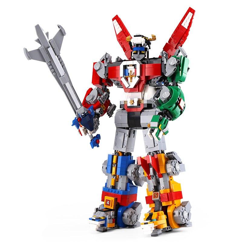 16057 Ideas serie Voltron Defender del universo modelo Construcción bloques juguetes compatibles con 21311 niños regalo-in Bloques from Juguetes y pasatiempos    3