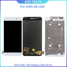 "5.2 ""per Vivo X6 Lcd X6A X6D X6L X6S Display Lcd + Touch Screen + Frame + Strumenti Digitizer montaggio Accessori di Ricambio"
