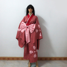 Samurai Champloo Fuu Kimono Christmas Party Halloween Uniform Outfit Cosplay