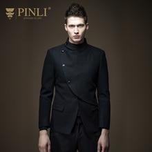 Overcoat Rushed Full Regular Turtleneck Solid Standard Sobretudo Pinli 2016 Autumn New Fashion Slim Wool Coat Male B163602355