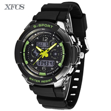 XFCS 2017 waterproof watches for men original man automatic watchs esportivo mens top digitales durable watch military clock
