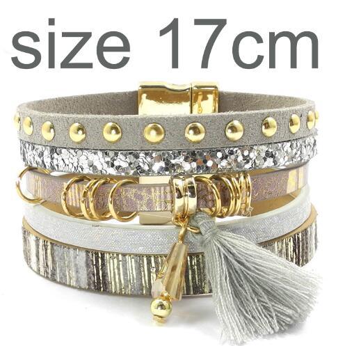 gray size 17CM