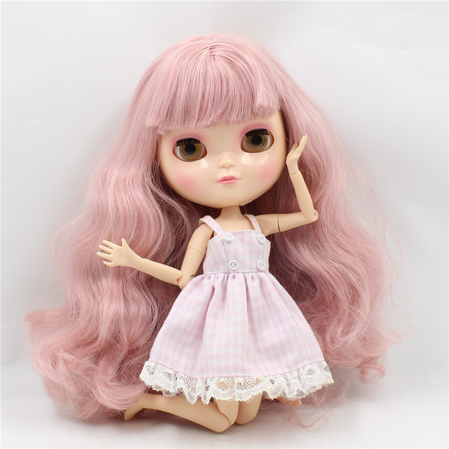 ICY Neo Blythe Doll Pink Hair Azone Jointed Body
