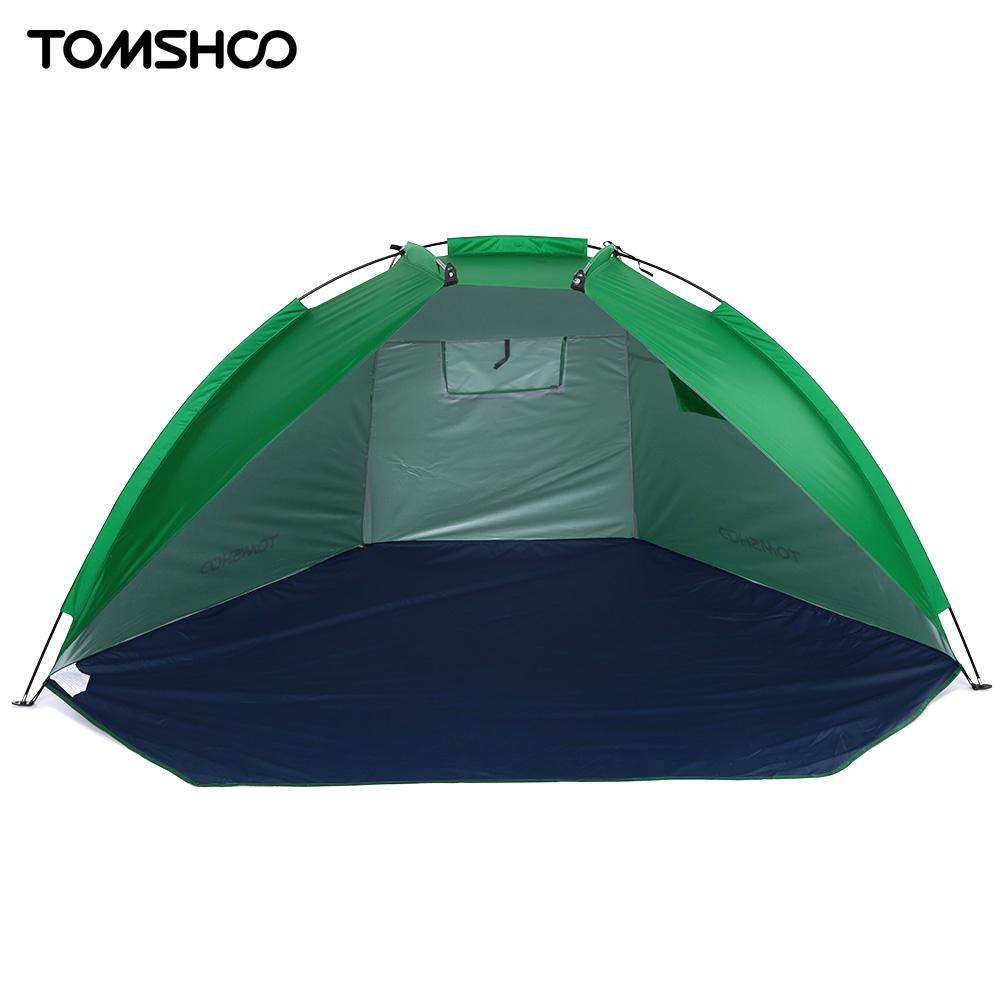 TOMSHOO 2 человек пляжные Палатки приюты УФ Защита Лето палатка спортивные зонтик палатка для Рыбалка Пикник парк