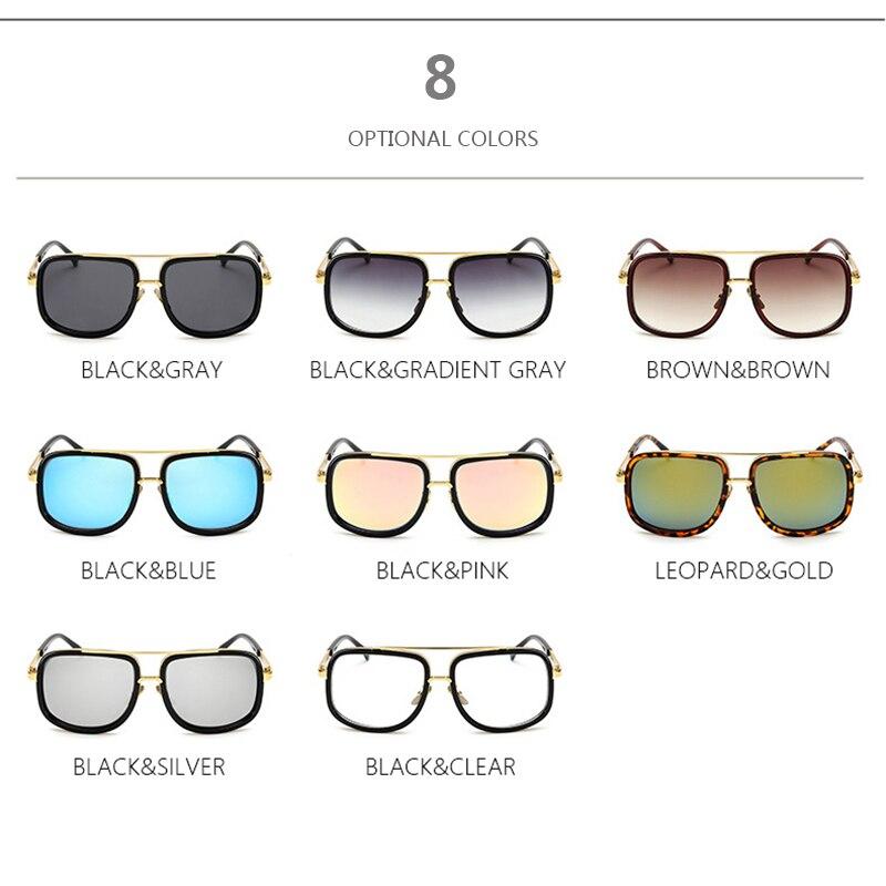 8558460be TSHING RAY Homens Mulheres Famoso Designer Da Marca de óculos de Sol  Quadrados Moda Flat Top Superstar Desgaste Ao Ar Livre Óculos de Sol Para  Feminino ...