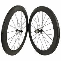 271 hub Cheap 25mm U Carbon Wheels 700C Carbon Wheelset 60MM Carbon Road Bicycle Wheels