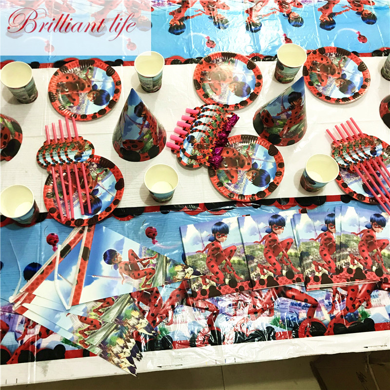 71pcs/lot Wonderful Ladybug Theme Baby Shower Paper Cup Plate Napkin Birthday Party Family Party Invitation Card Banner Supply71pcs/lot Wonderful Ladybug Theme Baby Shower Paper Cup Plate Napkin Birthday Party Family Party Invitation Card Banner Supply