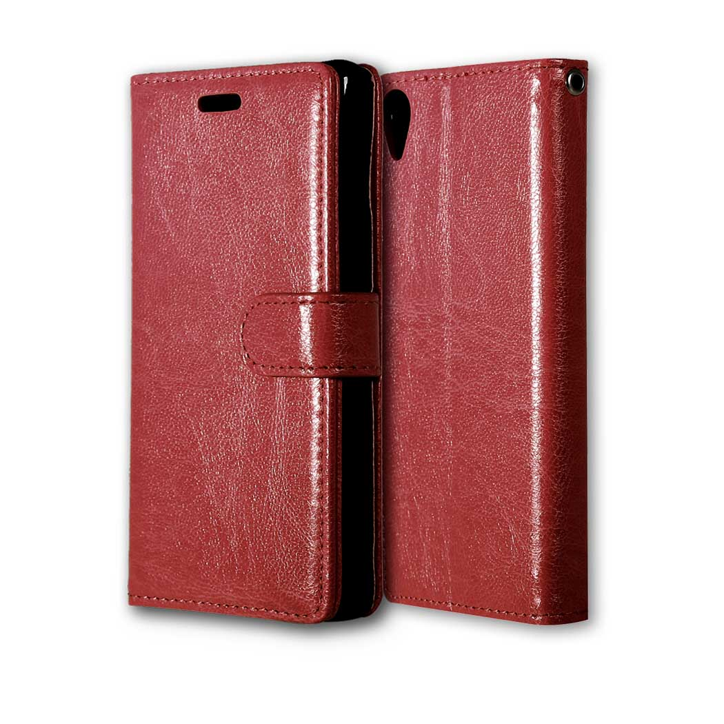 luxury Case For Sony Xperia X Flip PU Leather Case For Sony Xperia X Dual  F5122   Xperia X F5121 5.0inch Cover Phone Phone Case af30739d6e18