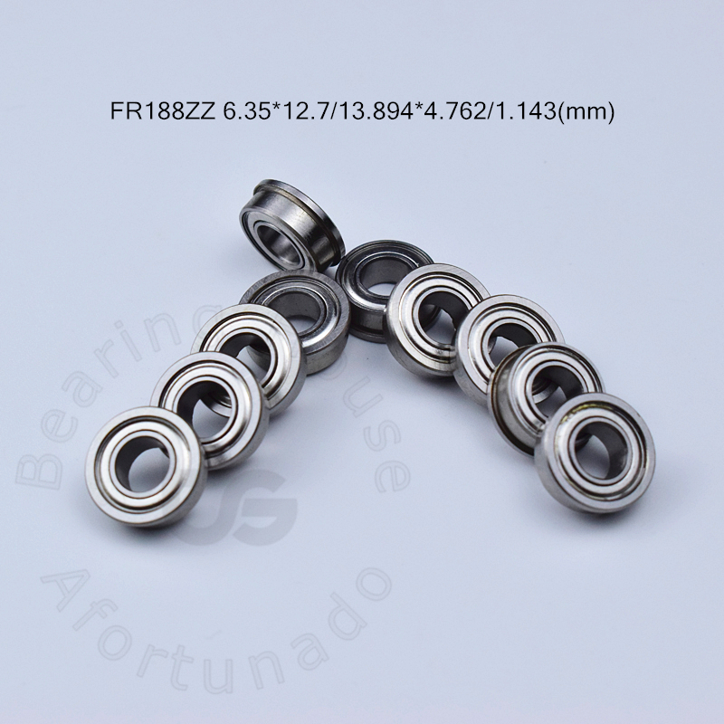FR188ZZ 6.35*12.7*13.894*4.762*1.143(mm) 10pieces free shipping bearing Flange bearings FR188ZZ chrome steel deep groove bearingFR188ZZ 6.35*12.7*13.894*4.762*1.143(mm) 10pieces free shipping bearing Flange bearings FR188ZZ chrome steel deep groove bearing