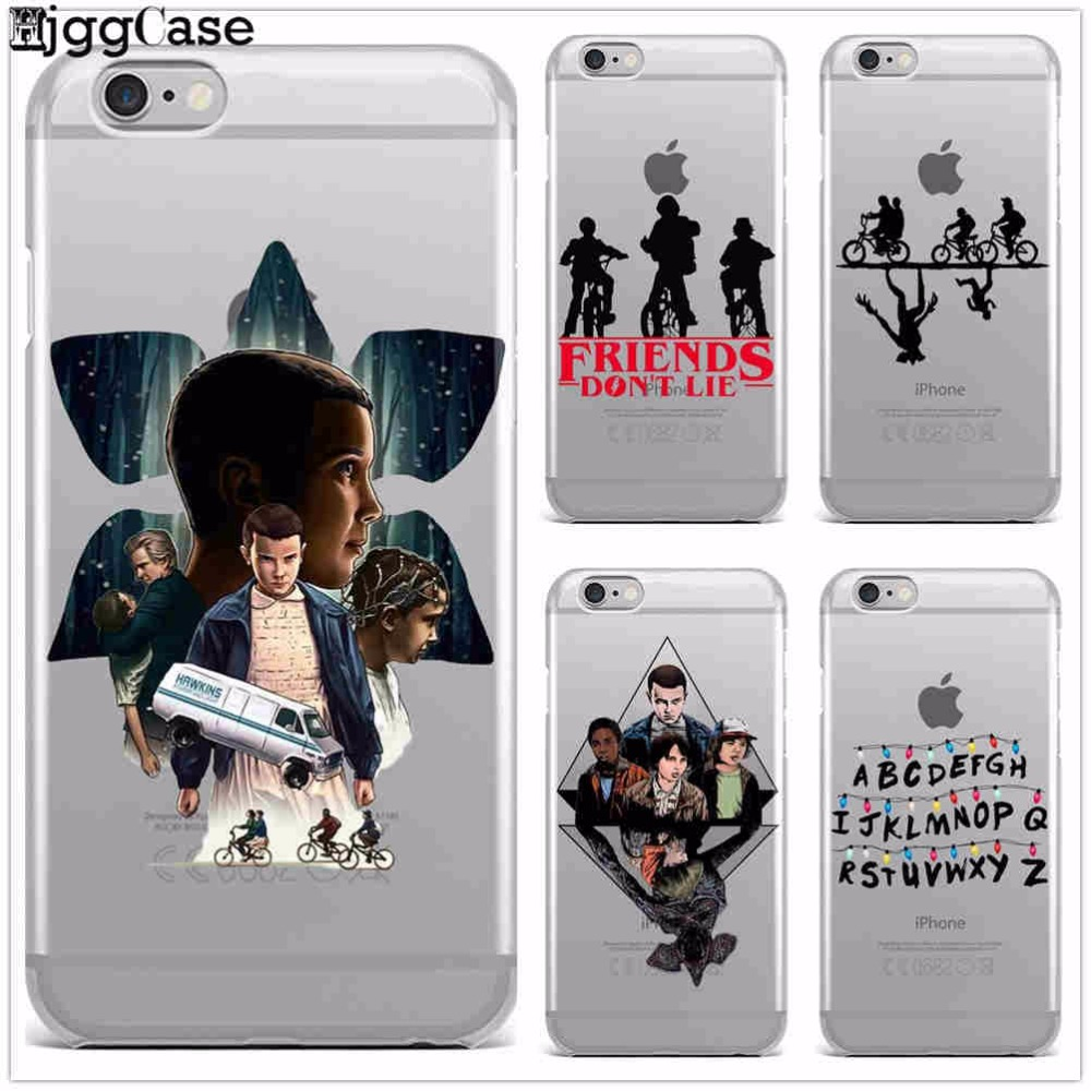 new styles 7e3ff ffd1c Stranger Things Christmas Lights Case For iphone 7 7Plus 6S 8 Plus X ...