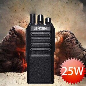 Image 2 - Alta Potência LEIXEN VV 25 25 watts de longo alcance walkie talkie com bateria 12.6 mAh 4000 V