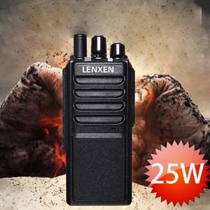 Image 2 - High Power LEIXEN VV 25 25 watt long range walkie talkie mit 12,6 V 4000 mAh batterie