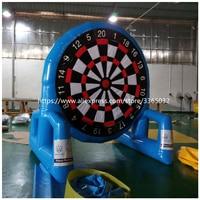 Airtight inflatable football darts sports game, inflatable soccer dart board /China high quality football dartboard