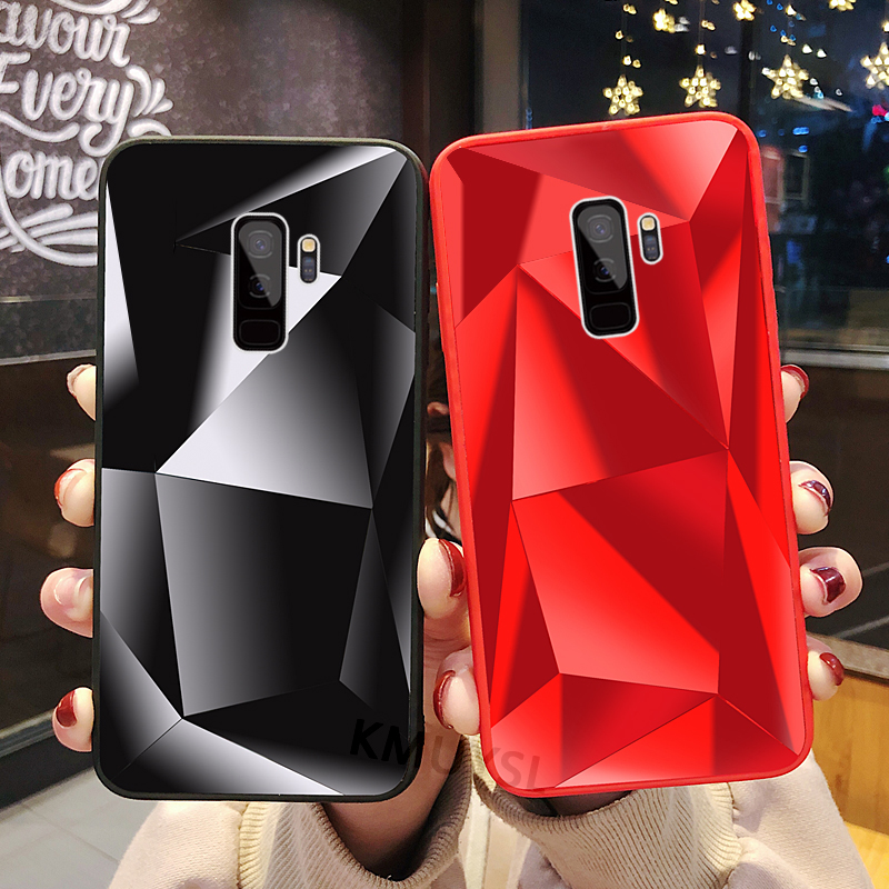 Eleteil Diamond Jelly Case For S8 S9 S10 Plus S7 Edge Fashion 3d Diamond Soft Tpu Back Cover For Samsung S10lite Cover Case E40 Phone Bags & Cases Cellphones & Telecommunications