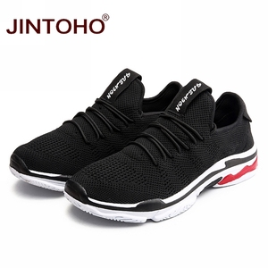 Image 2 - Jintoho 빅 사이즈 유니섹스 스니커즈 신발 여름 메쉬 캐주얼 신발 브랜드 남성 패션 신발 저렴한 남성 스니커즈 한국 남성 신발