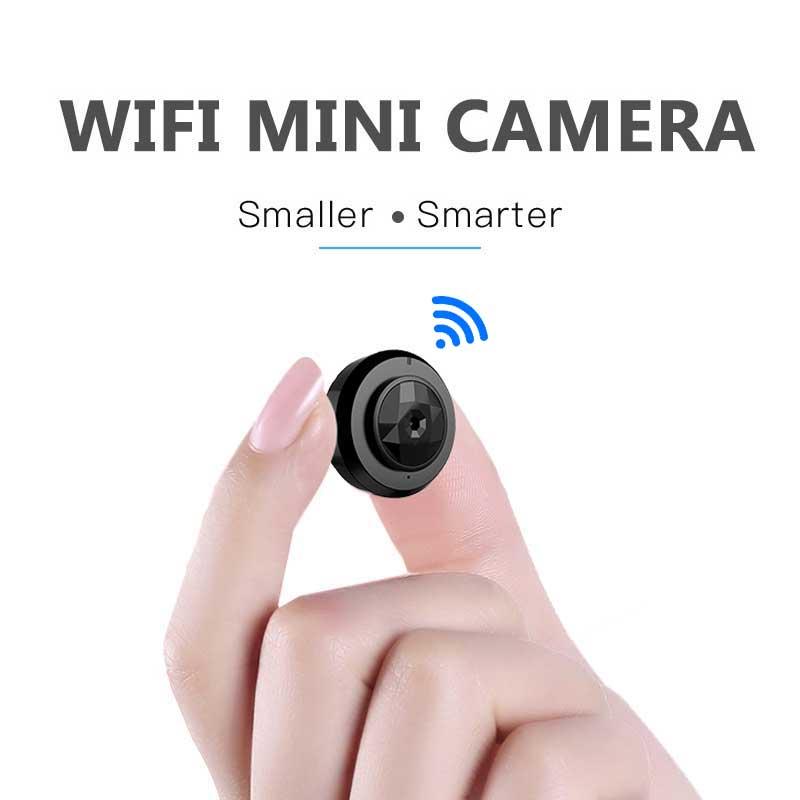 Mini Caméra Wifi 1080 p IP de Nuit En Plein Air Vision Android wi fi Sans Fil Petite Voiture Caméscope Détection de Mouvement HD Sport Portable CAM