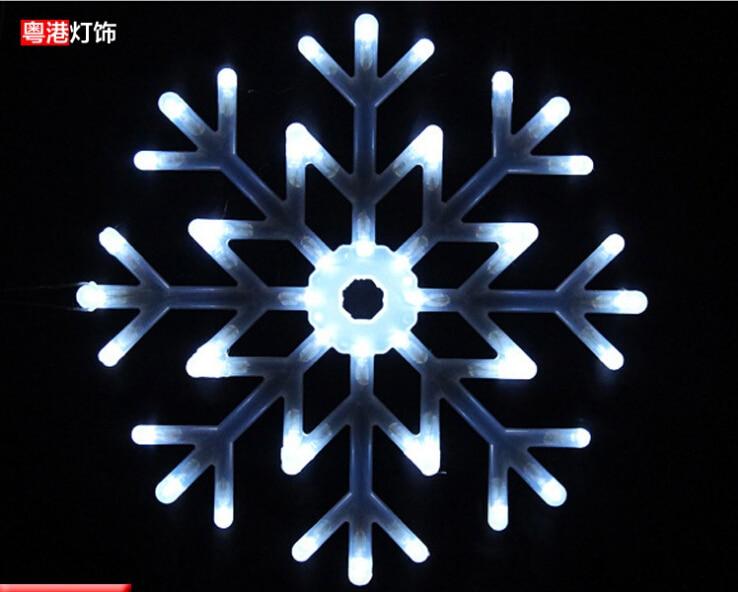 40 см LED большой подвесные светильники Водонепроницаемый Мода Снежинка Droplight кристалл бар жизни Обеденная Indoor Открытый подвесной светильник