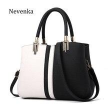 ba521b6c0b9a Nevenka женская сумка из искусственной кожи брендовая Сумка-тоут женская  Стильная вечерняя сумка на молнии Высококачественная су.