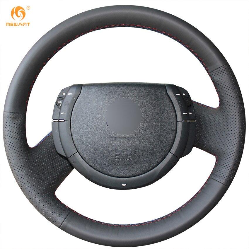 MEWANT черный Натуральная кожа рулевого колеса автомобиля крышки для Триумф Ситроен С4 2005-2010