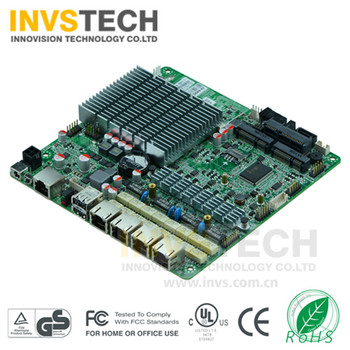 Mini itx 17*17  J1900 Four Gigabit Ethernet lan firewall / network / ROS moterboard with bypass function