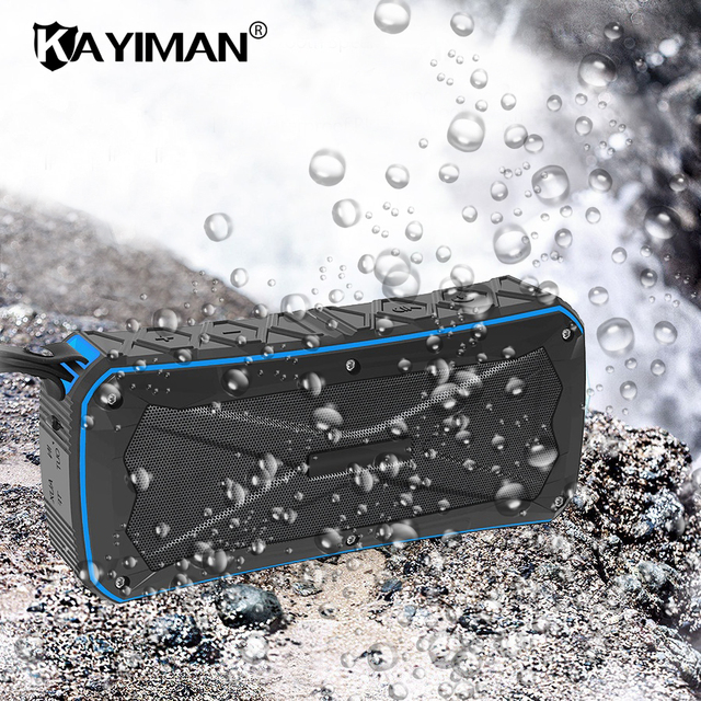 Super B Outdoor Portable Bluetooth Speaker Waterproof Wireless Stereo Sound Box With Dsp Noise Reduction