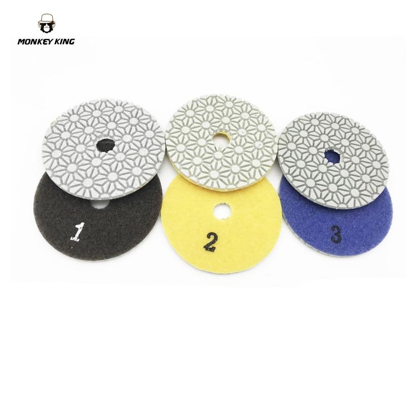 Dischi abrasivi diamantati per lucidare a secco / a secco dischi - Utensili elettrici - Fotografia 2