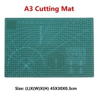 1PC PVC Cutting Mat A3 Durable Self Healing Cut Pad Patchwork Tools Handmade Diy Accessory Cutting